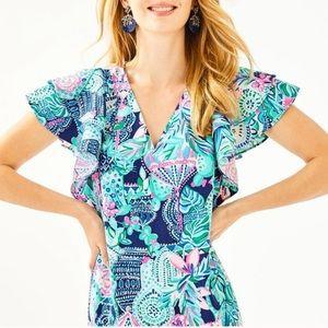 Lilly Pulitzer Kathie Dress 00. NWT
